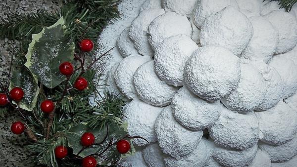 Κουραμπιέδες με Αμύγδαλο - Almond Cookies in Caster Sugar