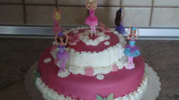 Τούρτα Μπαλαρίνα - Ballerina Cake