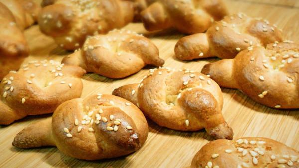Κουλουράκια Τσουρεκιού - Brioche Cookies