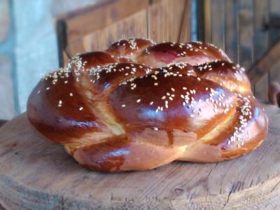 Πασχαλινό Τσουρέκι - Easter Brioche