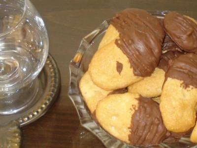 Μπατόν Σοκολάτας - Chocolate Baton Cookies
