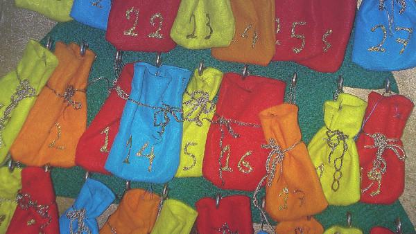 Χριστουγεννιάτικο Ημερολόγιο Αντίστροφης Μέτρησης - Christmas Advent Calendar