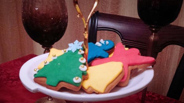 Χριστουγεννιάτικα Μπισκότα Τζίντζερμπρεντ - Christmas Gingerbread Cookies