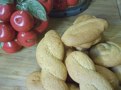 Κουλουράκια Κανέλας - Cinnamon Biscuits