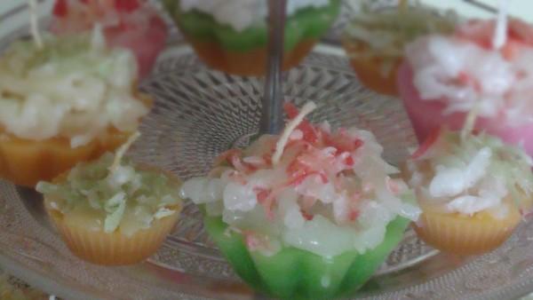 Κεριά Κάπκεικς - Cupcake Candles