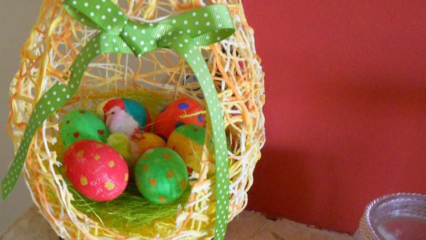 Πασχαλινά Αυγά από Νήματα - Easter Eggs with Yarn