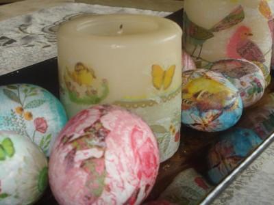 Πασχαλινά Αυγά από Χαρτοπετσέτες - Easter Foam Eggs