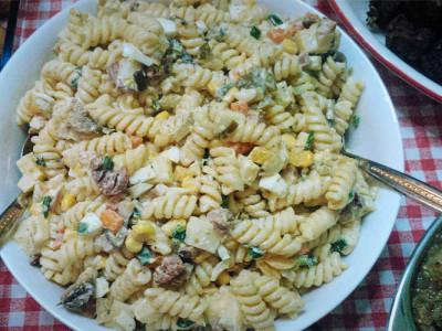 Μακαρονοσαλάτα - Easy Pasta Salad