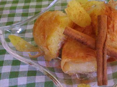 Γαλακτομπούρεκο με Σιμιγδάλι - Custard Pie with Semolina