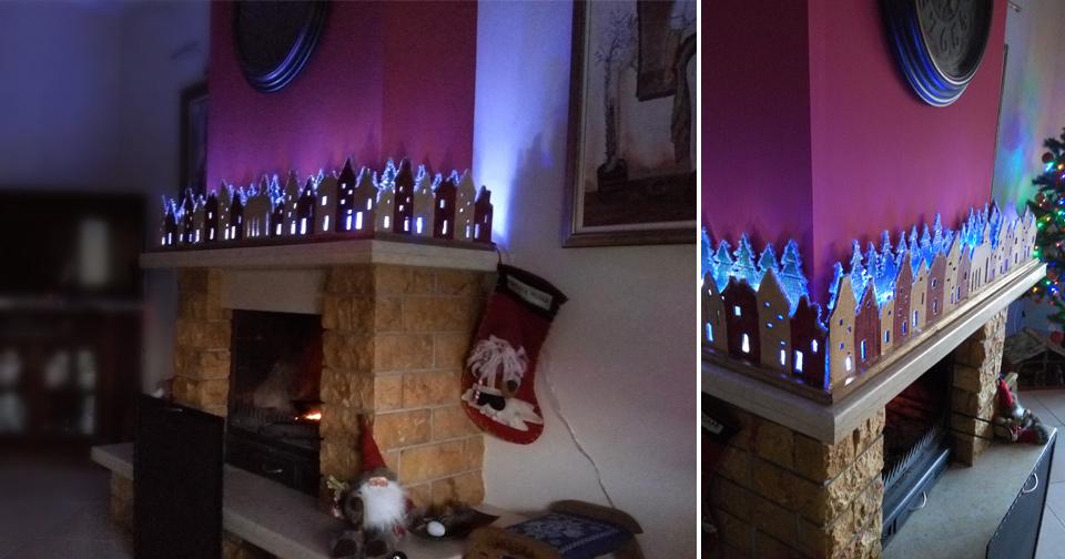 Χειροποίητο Χριστουγεννιάτικο Χωριό - Handmade Christmas Village