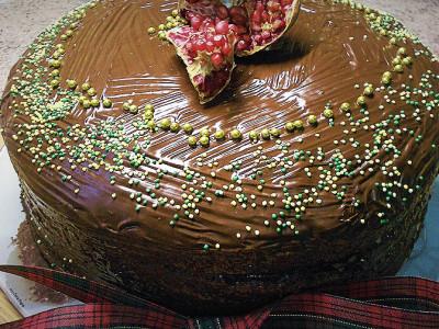 Βασιλόπιτα με Σοκολάτα - Happy New Year Cake