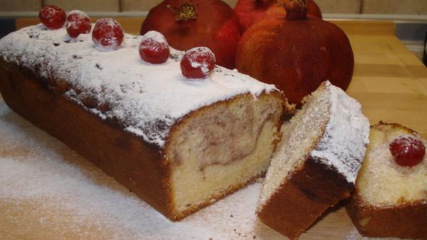 Σπιτικό Κέικ Ρόδι - Homemade Pomegranate Cake