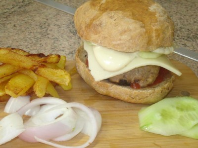 Σπιτικά Μπέργκερς - Homemade Burgers