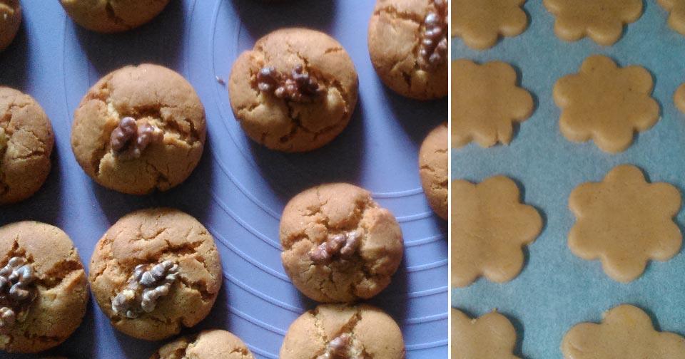 Κουλουράκια Μελιού - Honey Cookies