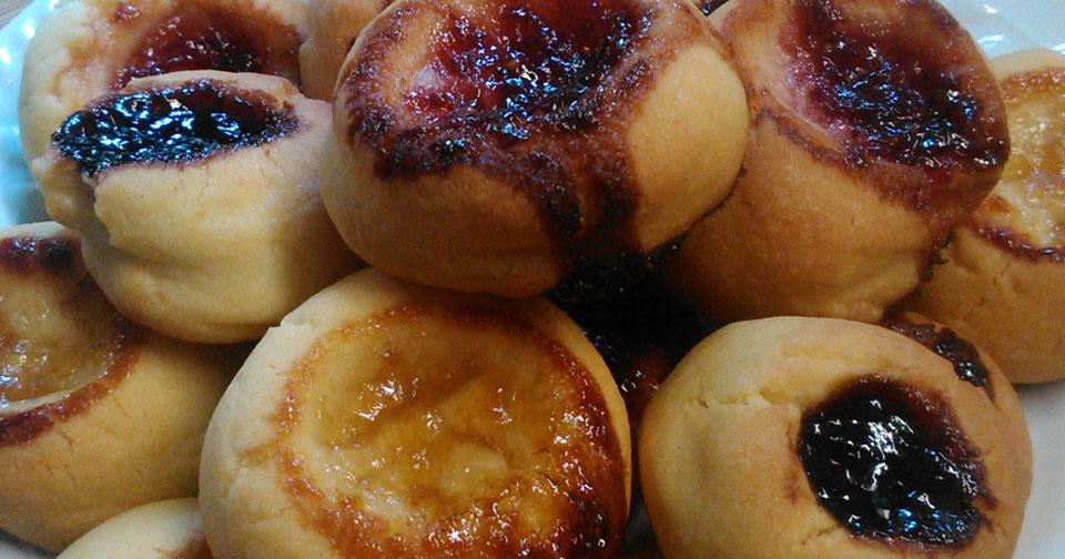 Μπισκότα Βουτύρου με Μαρμελάδα - Jam Butter Cookies
