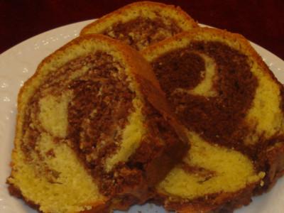 Κεικ Μαρμπλ - Marble Cake