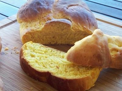 Νηστίσιμο Τσουρέκι από Κολοκύθα - Easter Pumpkin Brioche