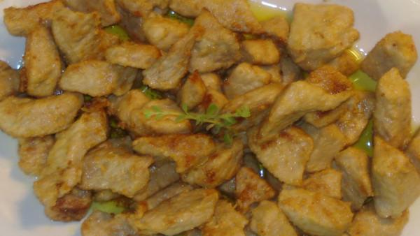 Χοιρινή Τηγανιά - Pan Fried Pork