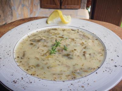 Παραδοσιακή Σπιτική Μαγειρίτσα - Greek Liver Soup