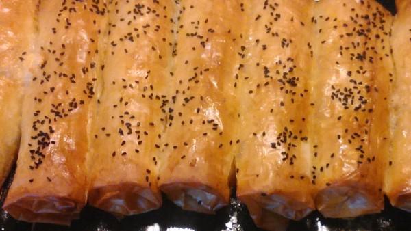 Πιτάκια Παστουρμά - Pastirma Rolls