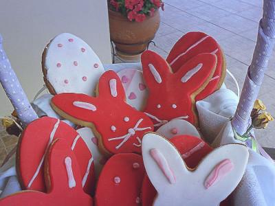 Πασχαλινά Μπισκότα με Ζαχαρόπαστα - Easter Cookies with Sugar Paste