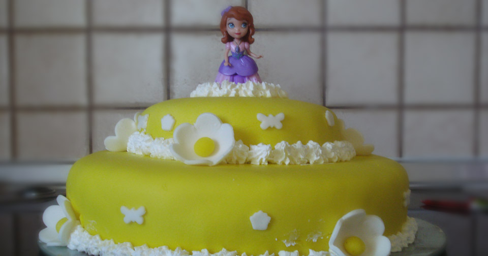 Τούρτα Γενεθλίων Πριγκίπισα Σοφία - Princess Sofia Birthday Cake