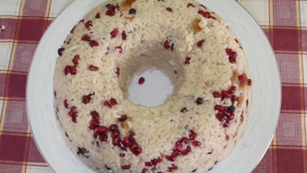Ρύζι με Ρόδι - Pomegranate Rice