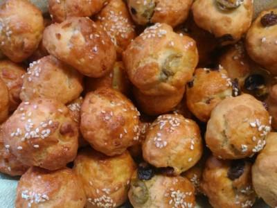 Τυροπιτάκια - Salty Lazy Cheese Bites