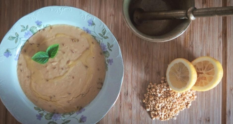 Σούπα Φάβας με Κύμινο