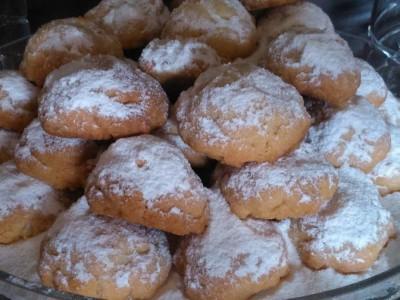 Μπισκότα Λουκούμι - Delight Cookies
