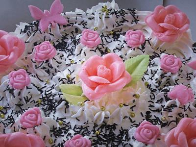 Τούρτα Βανίλια Σοκολάτα - Vanilla Chocolate Cake