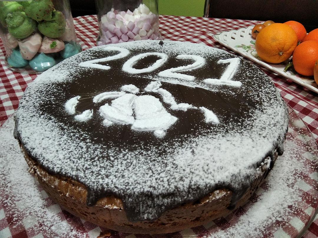 Βασιλόπιτα κέικ χωρίς μίξερ